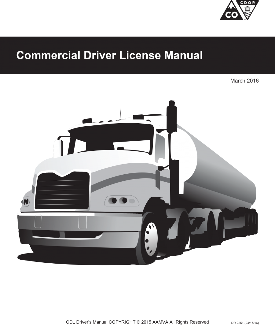 Cdl permit class at us truck driving school.
